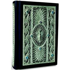 Подарочная книга Библия в окладе из филиграни