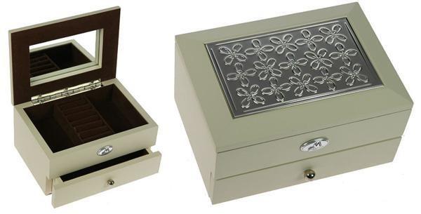 Ювелирная двухъярусная шкатулка Moretto   Шкатулки для украшений 0599c241fb4