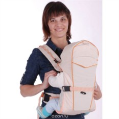 Бежевый рюкзак-кенгуру BabyActive Simple