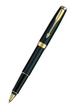 Ручка-роллер Parker Sonnet T528, цвет mattblack GT
