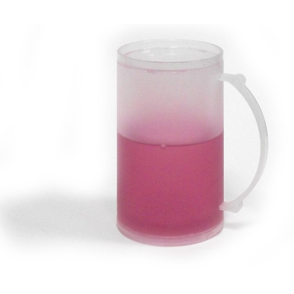 Охлаждающая кружка (розовая)