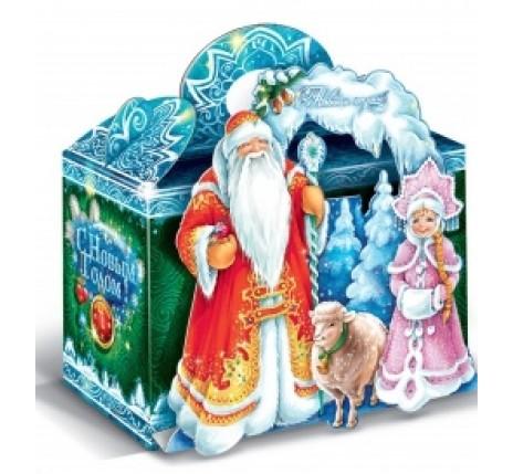 Сладкий новогодний подарок Дед Мороз и Снегурочка