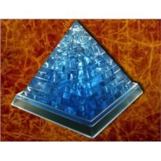 Головоломка 3D пазл Пирамида (синяя)