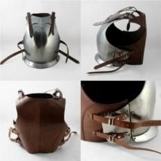 Кираса Средневековая с кожаными боками