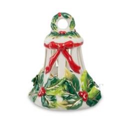 Фарфоровый колокольчик Рождество Pavone