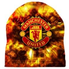 Шапка с 3D печатью Manchester United