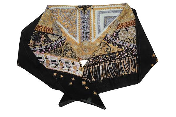 Многоцветный женский платок Leo Ventoni (шерсть)