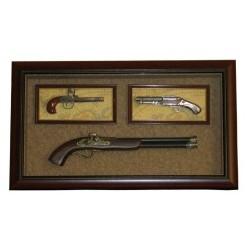 Коллаж Карабин и 2 Пистолета