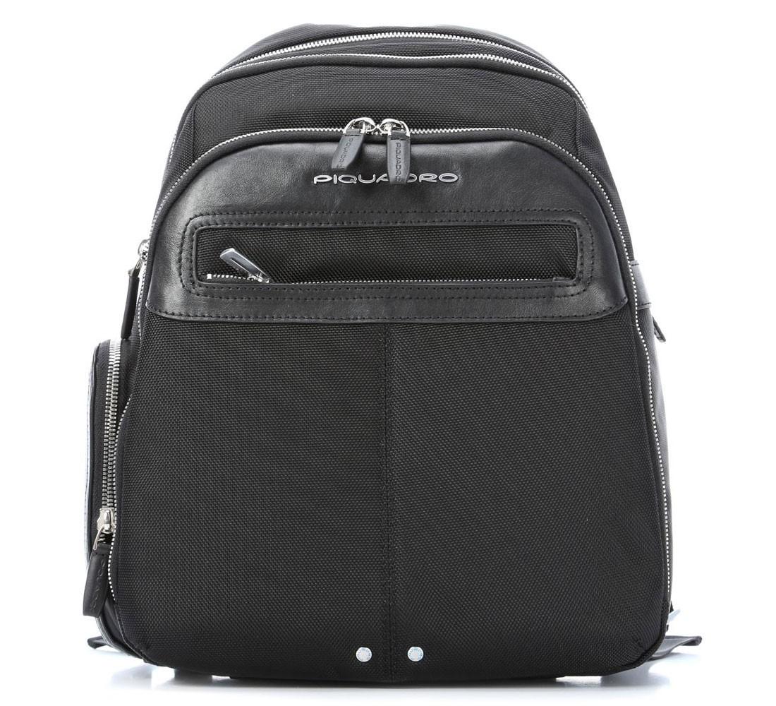 Черный мужской деловой рюкзак Piquadro Link