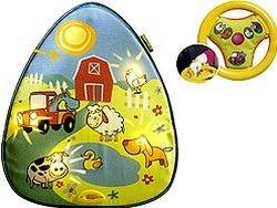 Светомузыкальная подвеска с рулем На ферме Tiny Love
