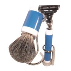 Синий бритвенный набор S.Quire