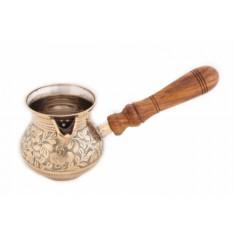 Латунная турка для кофе