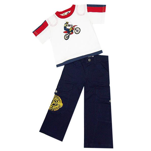 Комплект: брюки, футболка Wojcik  92-122 см