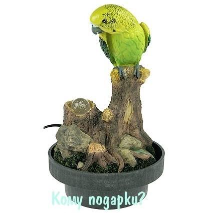 Фонтан декоративный «Волнистый попугайчик»
