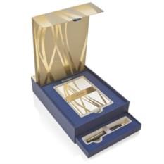Подарочный набор Waterman: ручка Carene black GT и открытки