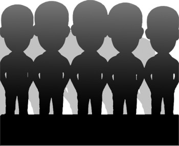 Статуэтка эксклюзивная по фото (5 человек)