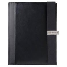 Папка формата с бумагой для записи и съемной флеш-картой