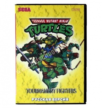 Картридж для Sega - игра Turtles Return