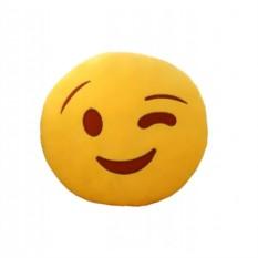 Подушка Emoji Подмигивает