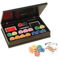 Набор для покера Renzo Romagnoli в черном боксе на 320 фишек
