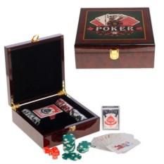 Настольное казино: карты, кости, фишки
