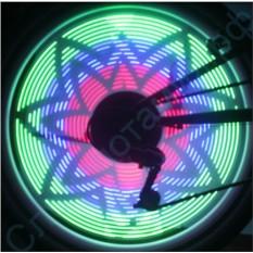 Подсветка колес велосипеда