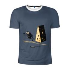 Мужская спортивная футболка День рождения