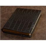 Ежедневник Elole Design (чёрный, крокодил; нат. кожа)