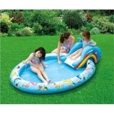 Надувной бассейн с горкой Summer Escapes