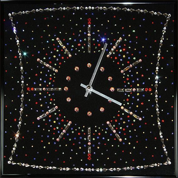 Часы с кристаллами сваровски Конфетти