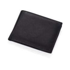 Черное кожаное портмоне Женева