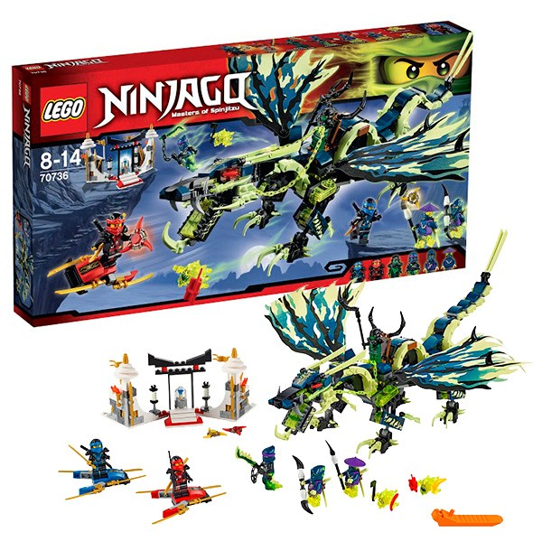 Конструктор Lego Ninjago Атака дракона Морро