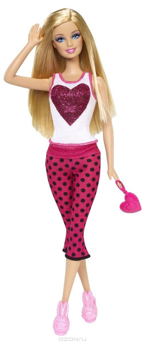 Кукла Барби на пижамной вечеринке