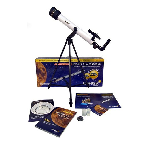 Детский телескоп-рефрактор Levenhuk Strike 50 NG