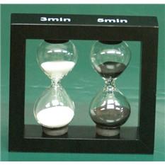 Песочные часы с двумя интервалами (3-5 мин)