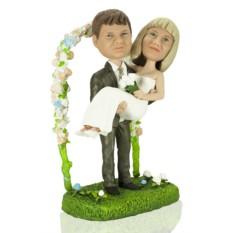 Кукла-шарж по фото «Свадьба каждый год»