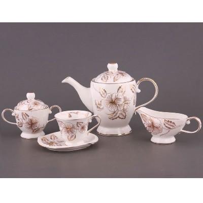 Чайный сервиз на 6 персон Гибискус