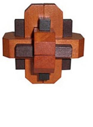 Деревянная головоломка Омега
