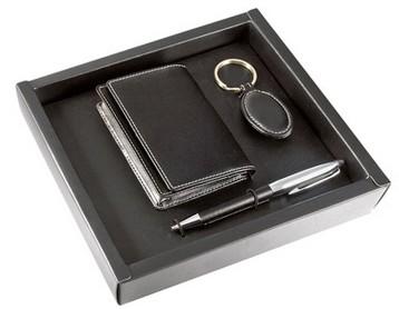 Набор: визитница, брелок и шариковая ручка