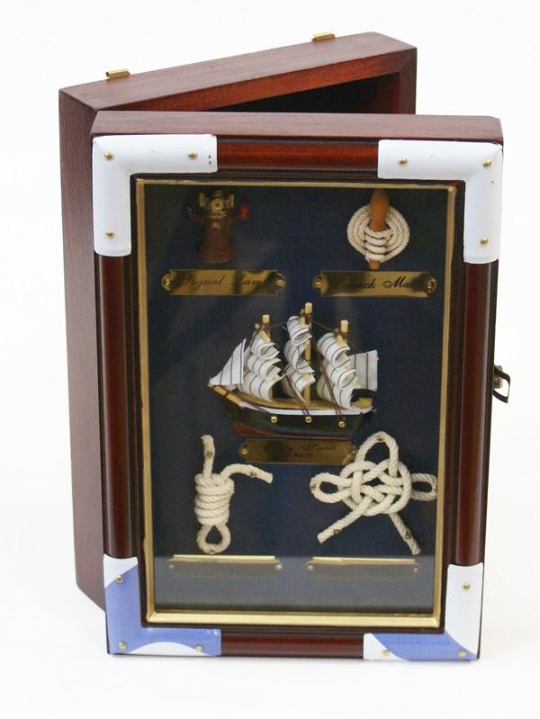 Ключница Корабль и морские узлы