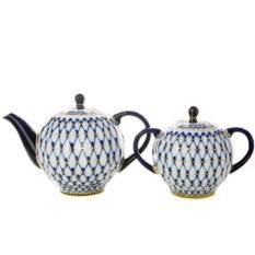 Чайный сервиз Кобальтовая сетка (14 предметов, 6 персон)