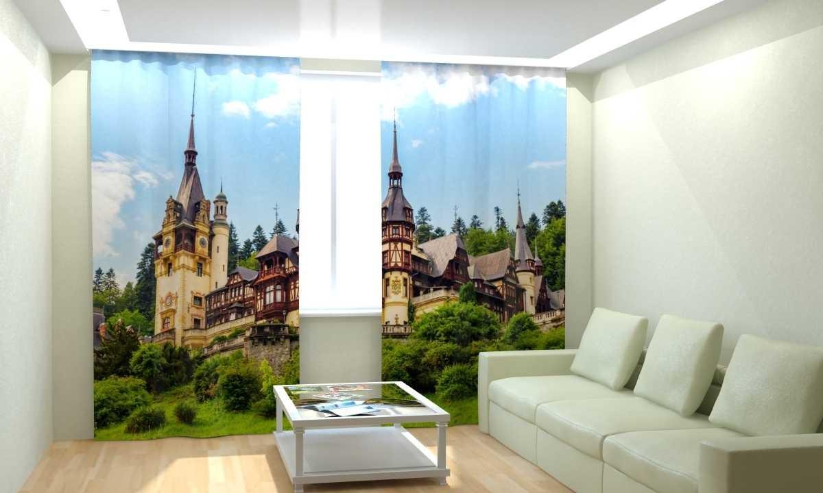 Фотошторы Замок в Румынии