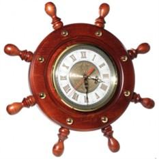 Часы Штурвал (D 44 см)