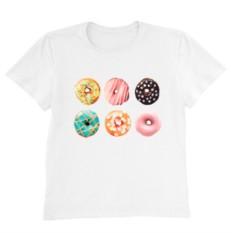 Женская футболка SIX SWEET DONUTS