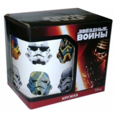 Кружка Стилизованные шлемы (Star Wars)