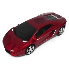 Красный музыкальный центр  Lamborghini
