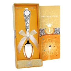 Серебряная ложечка Часы