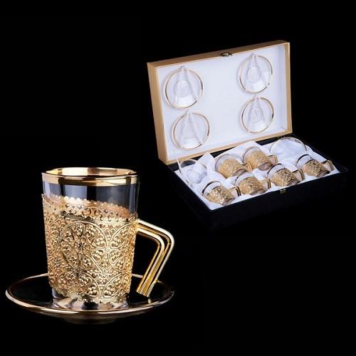 Набор для кофе Золото Флоренции на 6 персон