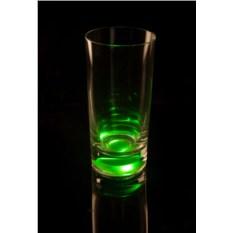 Бокал (Longdrink), загорающийся от прикосновения руки, зеленый