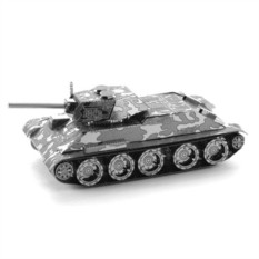 3D-пазл из металла Танк Т-34